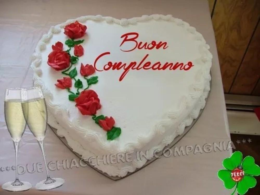 Buon Compleanno con la torta