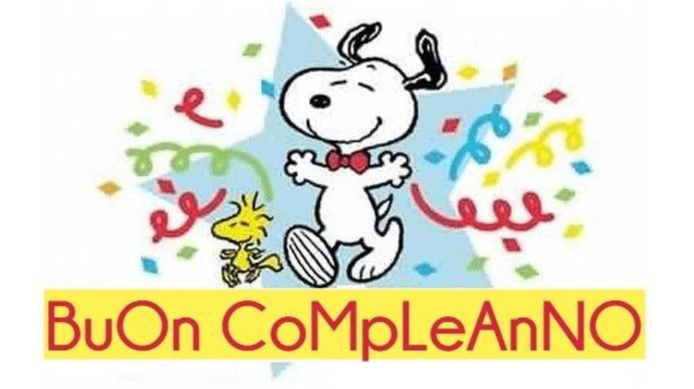 Buon Compleanno (Snoopy)