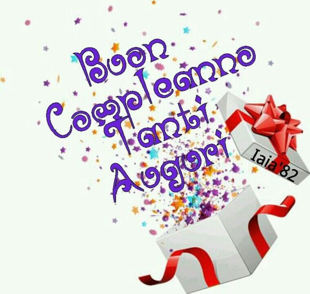 Buon Compleanno Tanti Auguri