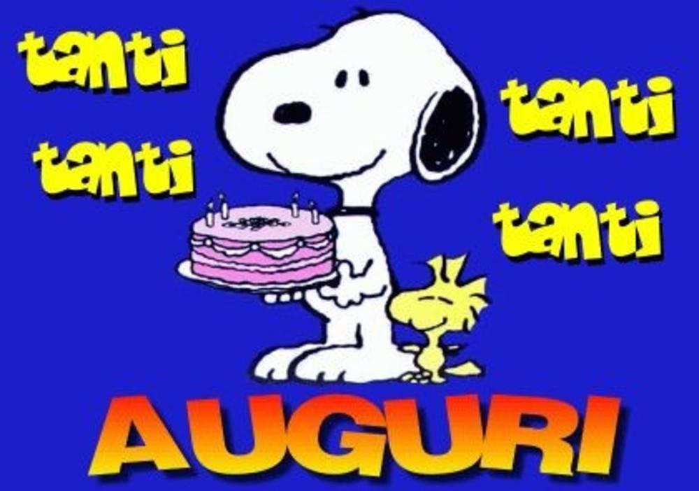 Tanti Tanti Tanti Tanti Auguri (Snoopy e Woodstock)