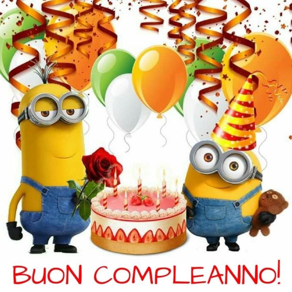 Buon Compleanno dai Minions