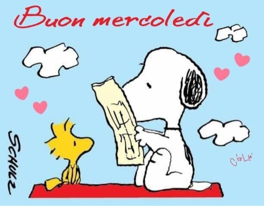 Buon Mercoledì Snoopy
