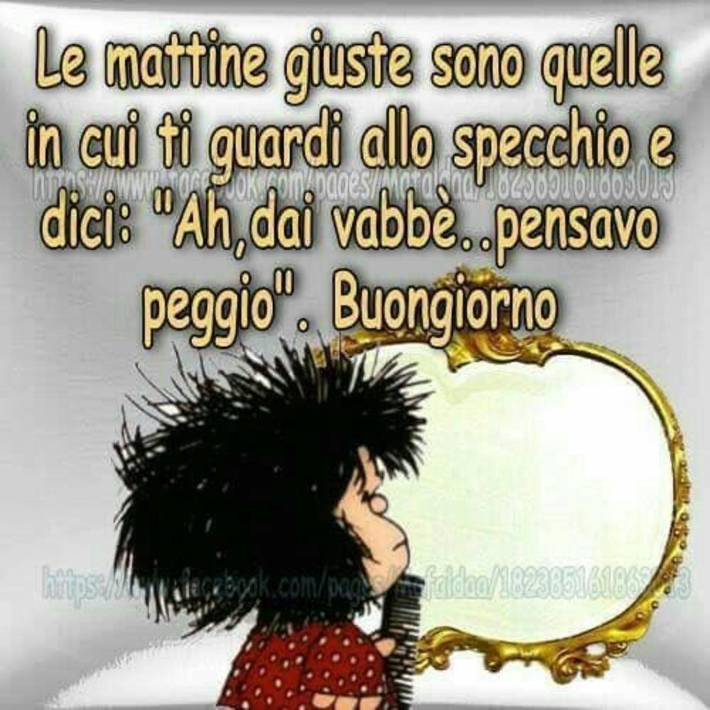 Buongiorno con Mafalda