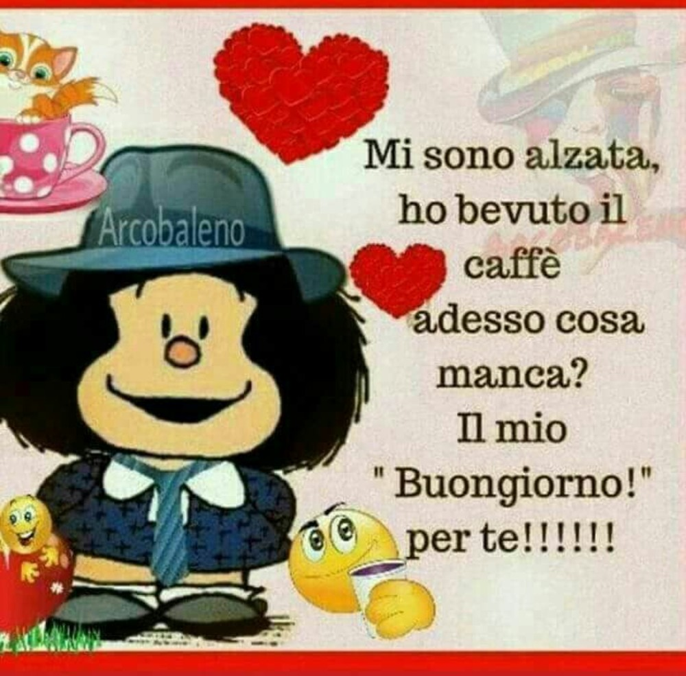 Il Buongiorno Con Mafalda Per Facebook Buongiorno Cloud