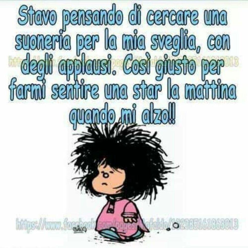 Buongiorno vignette divertenti con Mafalda