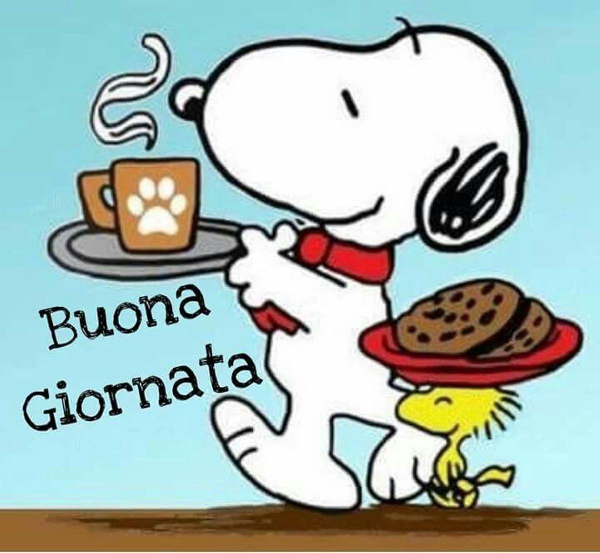 Buona Giornata con Snoopy