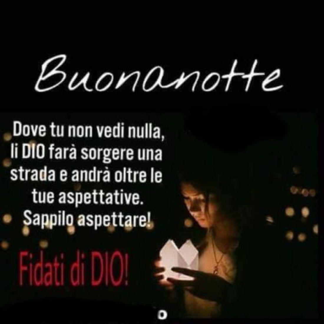 Buonanotte con Dio!