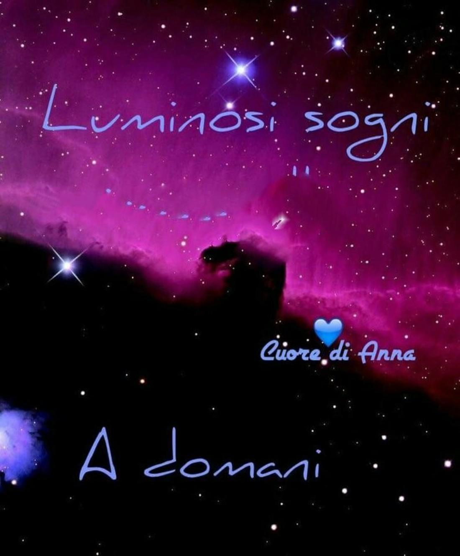 Luminosi Sogni, a domani