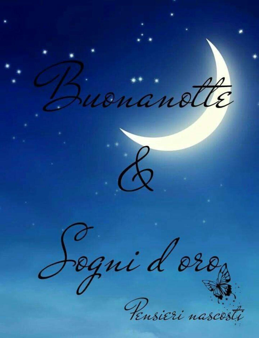 Buonanotte e Sogni d'Oro
