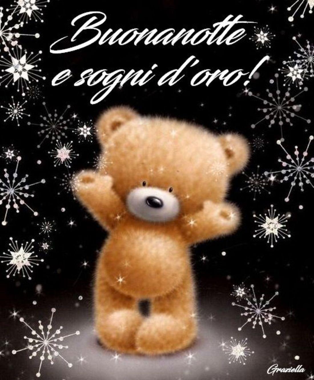 Buonanotte e Sogni d'Oro !