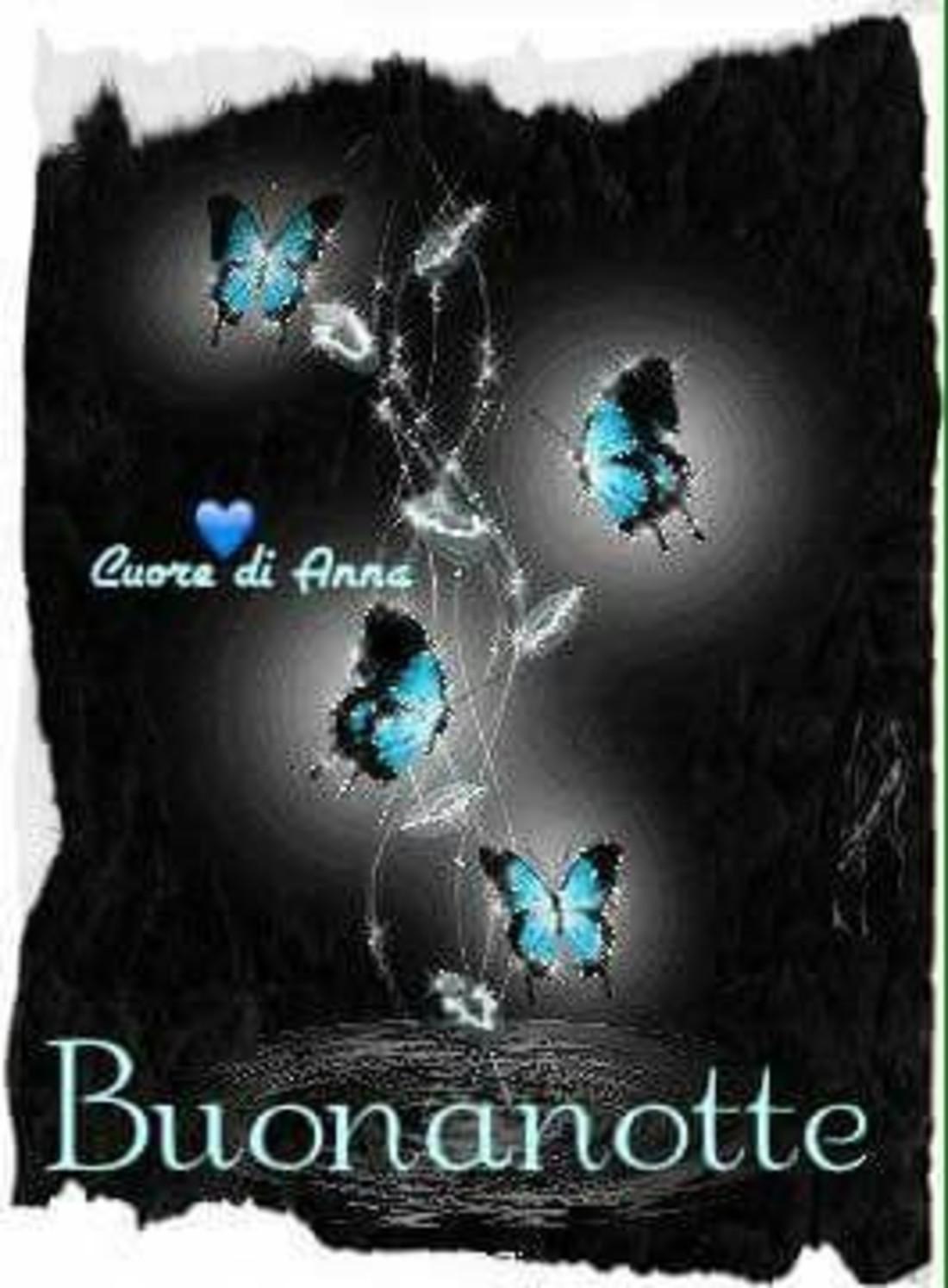 Buonanotte (con le farfalle)