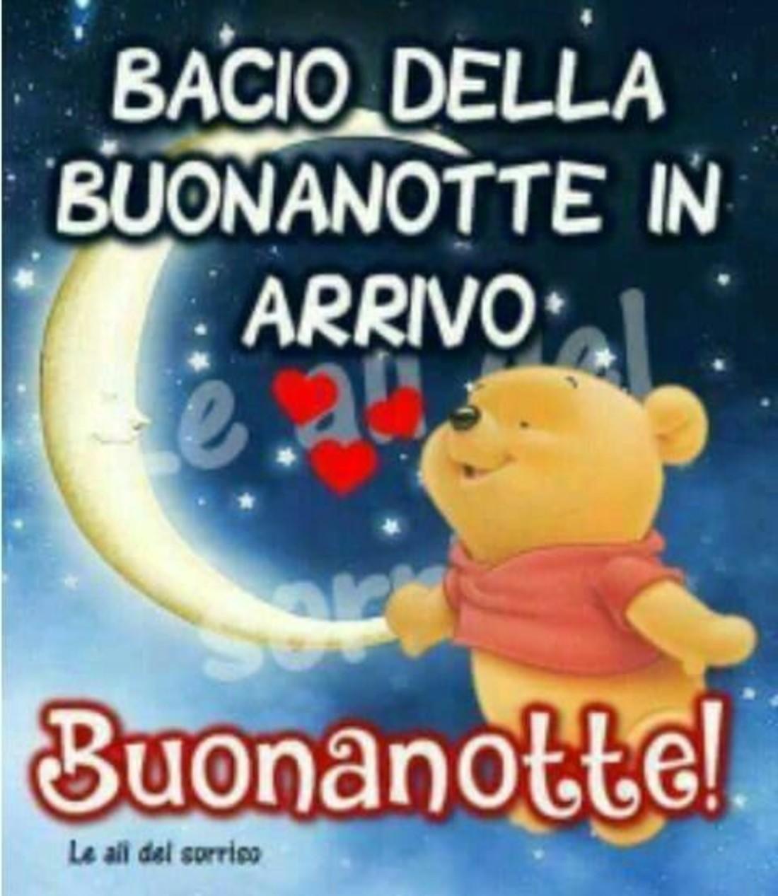 Bacio della Buonanotte in arrivo (Winnie The Pooh)