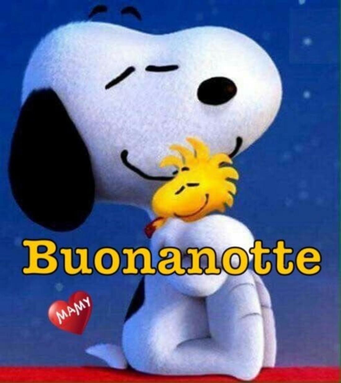 Buonanotte da Snoopy e Woodstock