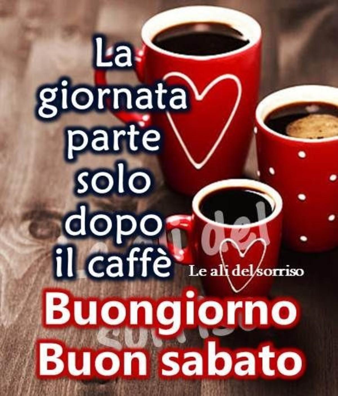 La giornata parte solo dopo il caffè, Buongiorno Buon Sabato