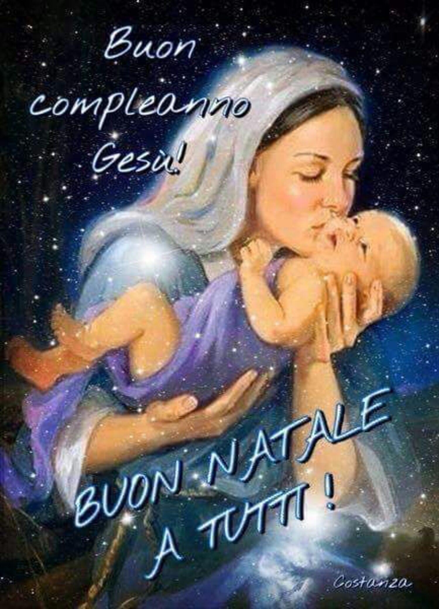 Buon Compleanno Gesù Buon Natale a tutti!