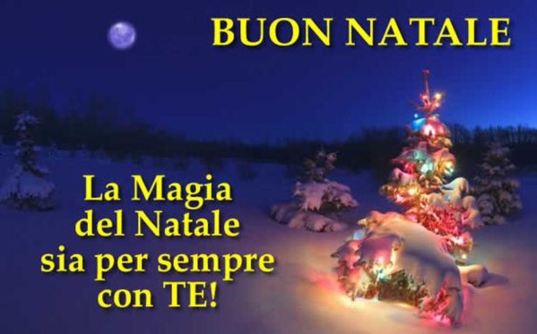 BUON NATALE La magia del Natale sia sempre con TE!