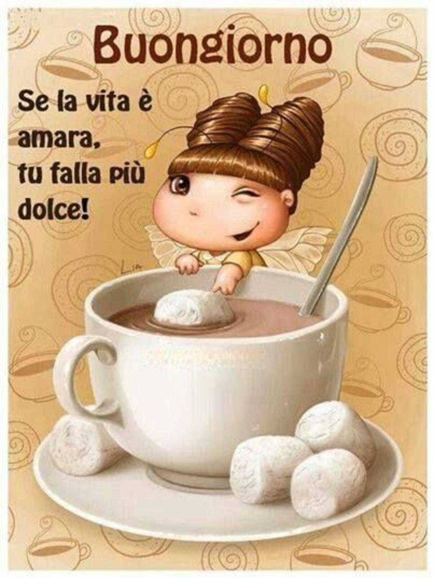Buongiorno, se la vita è amara, tu falla più dolce!