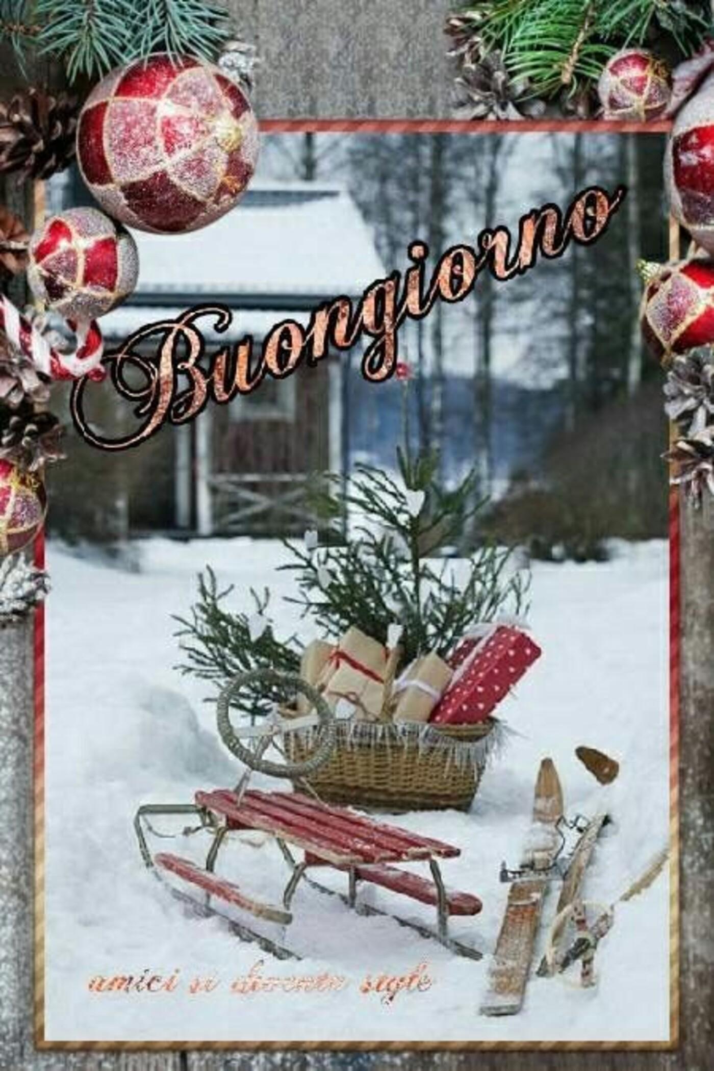 Buongiorno a tema Natale