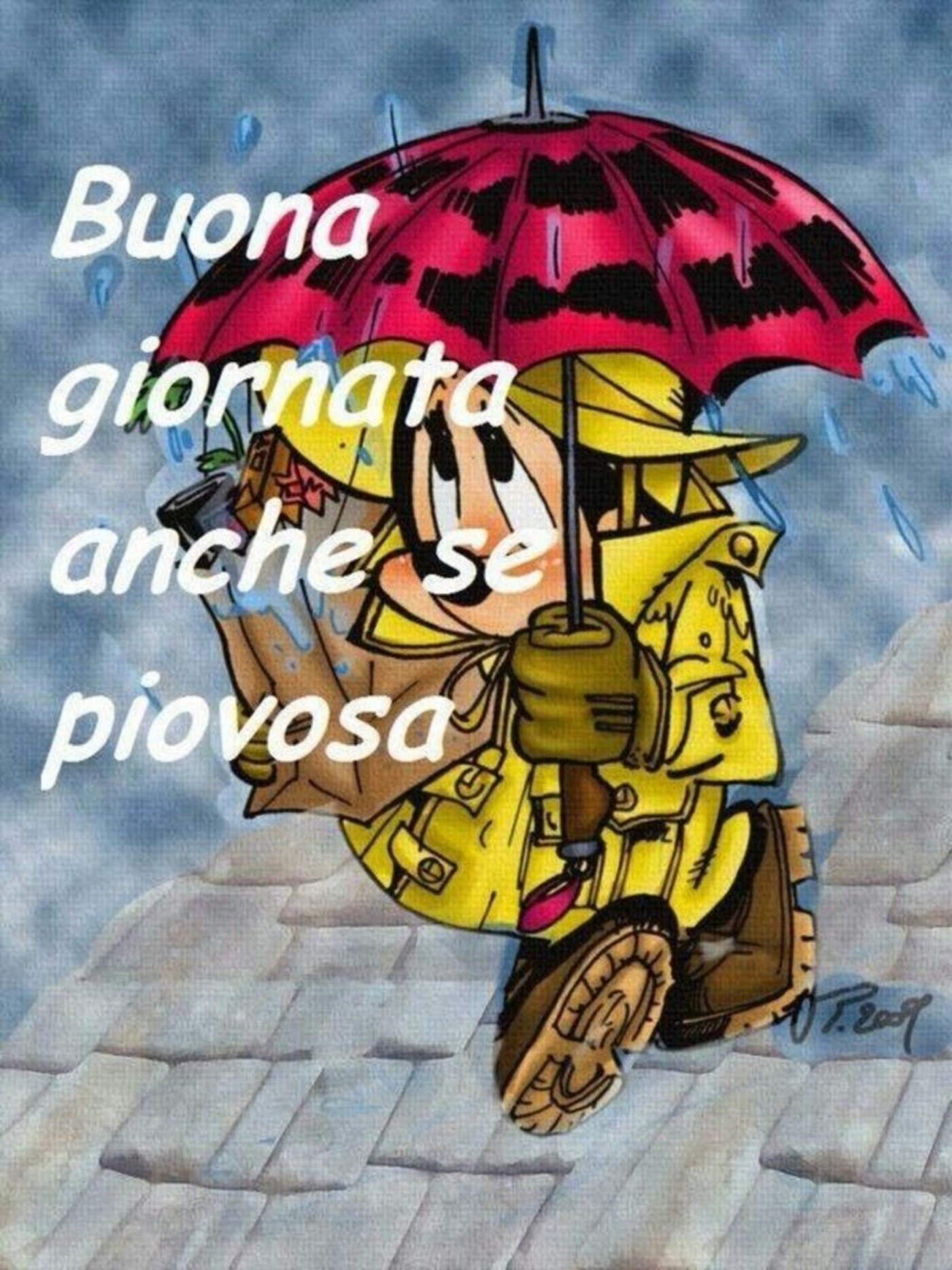 Buona giornata anche se piovosa