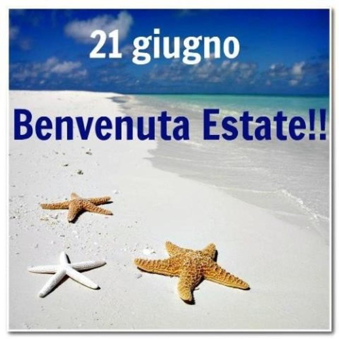 21 Giugno Benvenuta Estate!!