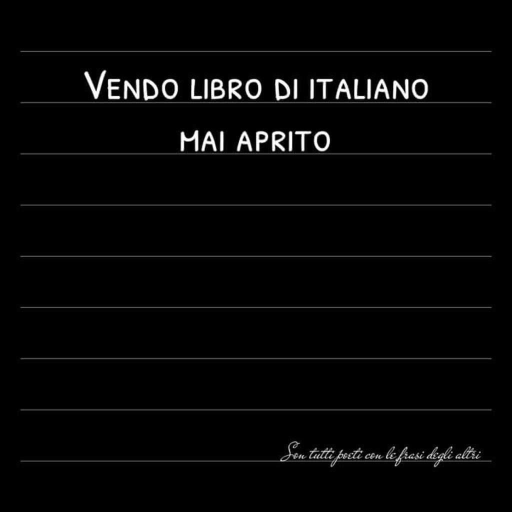 Vendo libro di italiano: mai aperto.