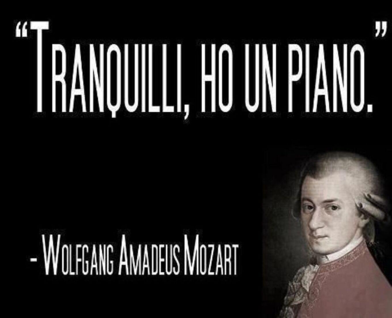 """""""Tranquilli ho un piano"""" Mozart"""