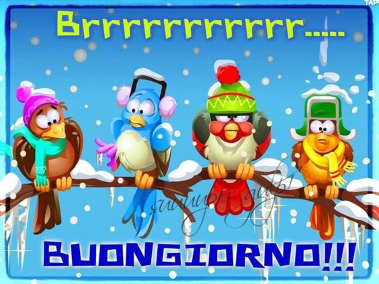 Brrrrrrrrrrrrrr... BUONGIORNO!!!