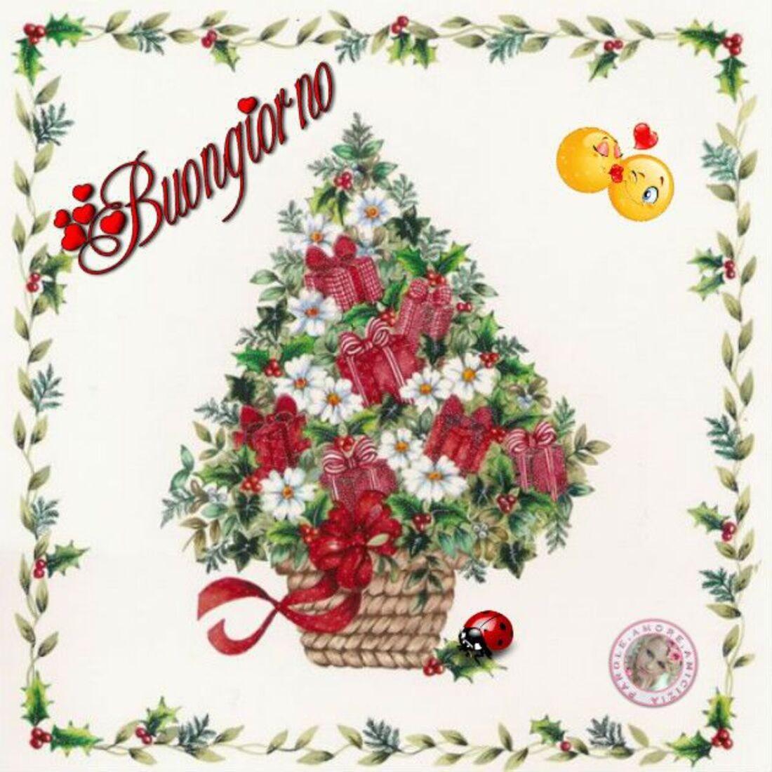 Buongiorno albero di Natale
