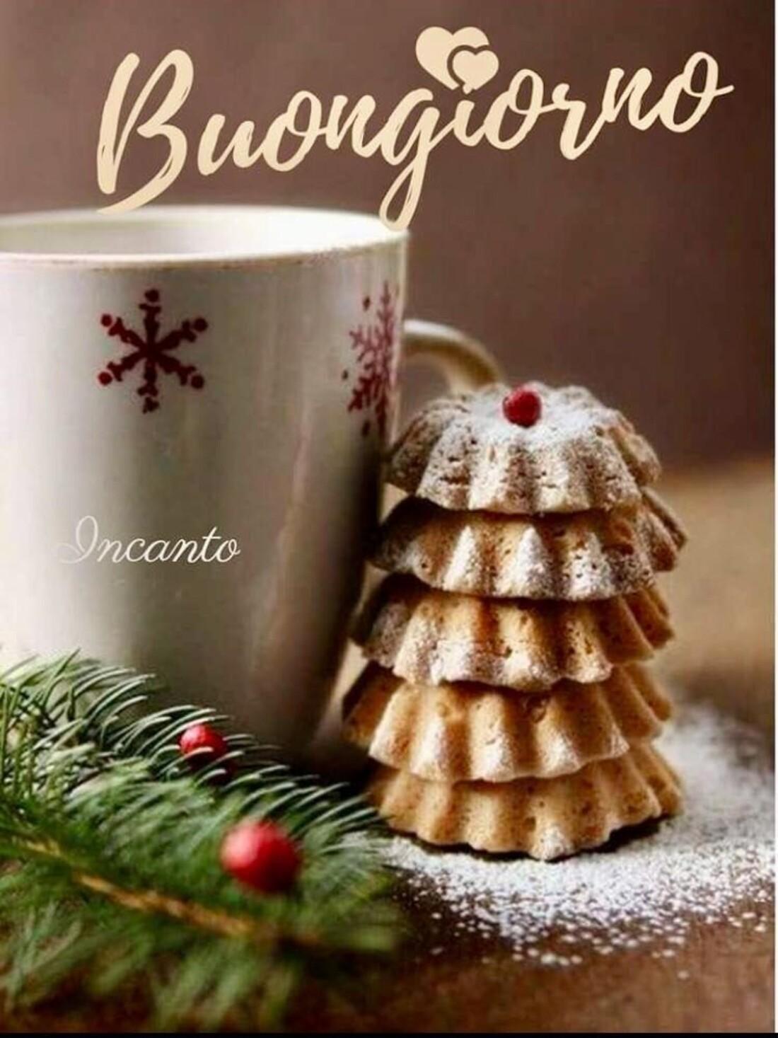 Buongiorno con dolci natalizi