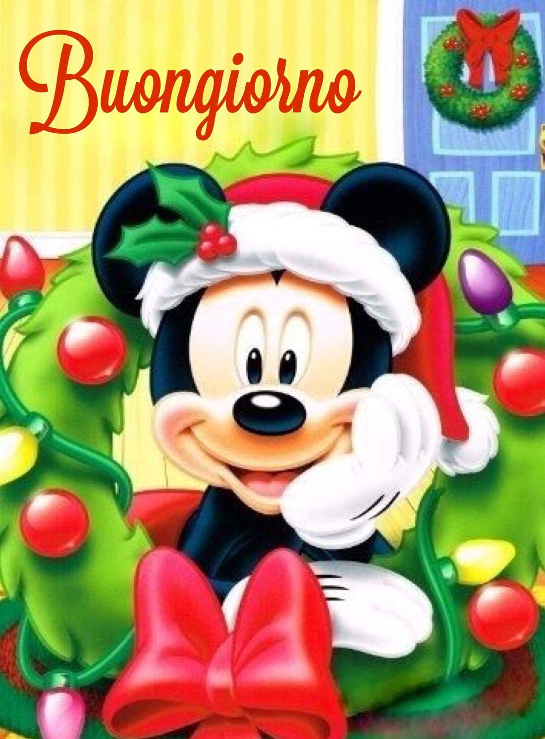 Buongiorno natalizio Topolino