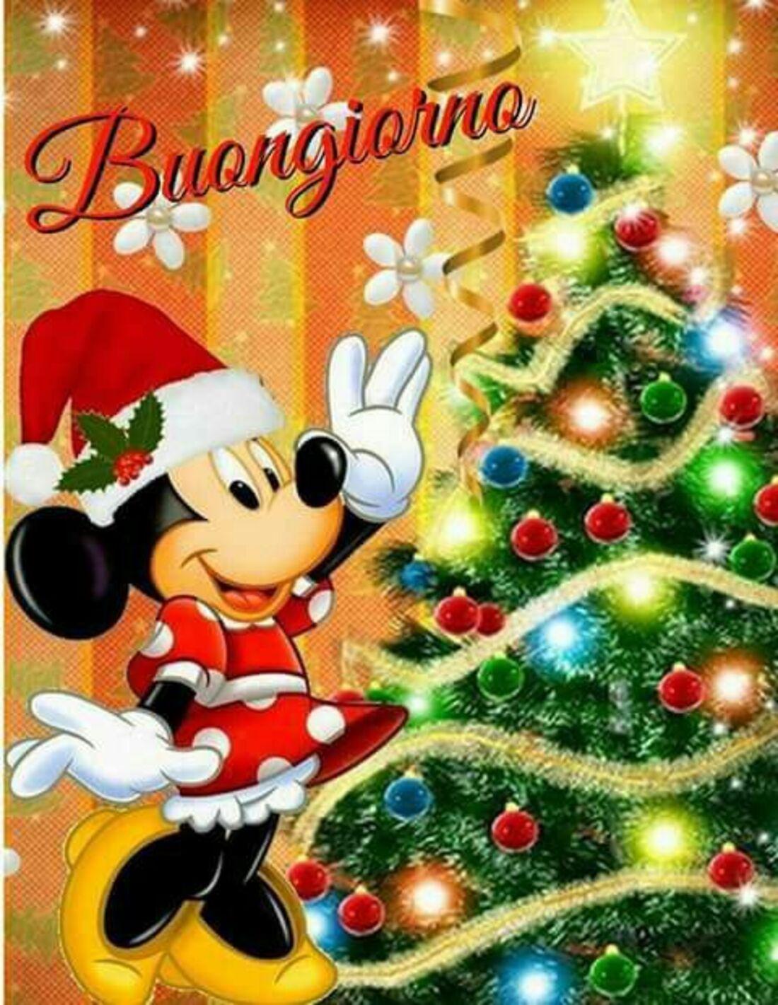 Buongiorno natalizio Disney