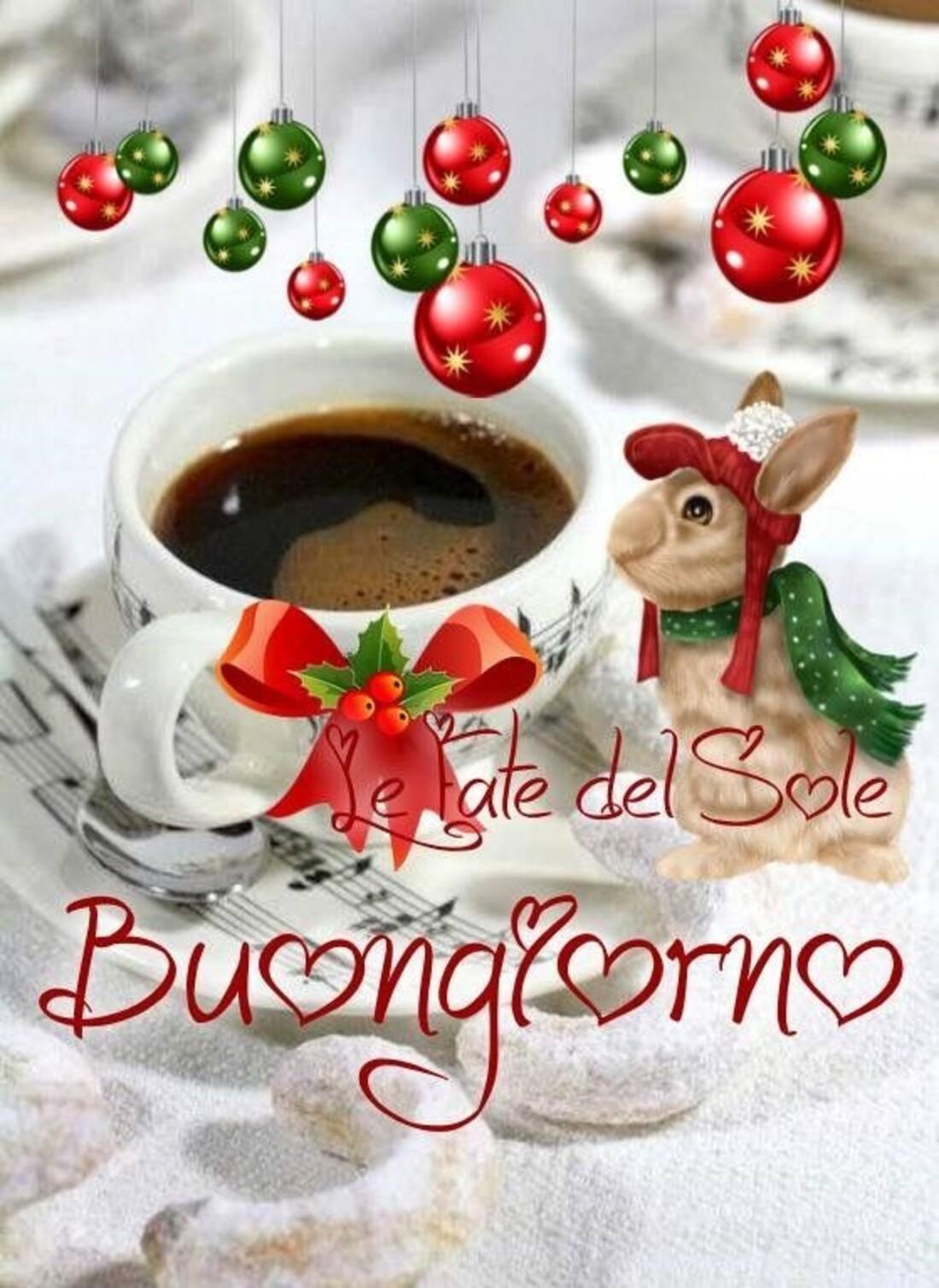 Buongiorno caffè natalizio
