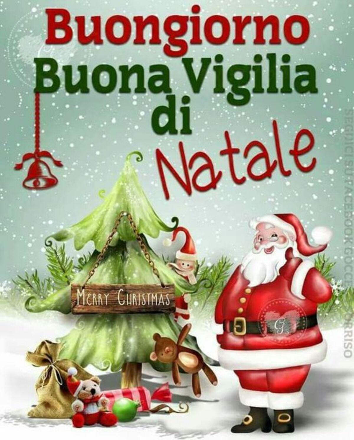 Buongiorno Buona Vigilia di Natale