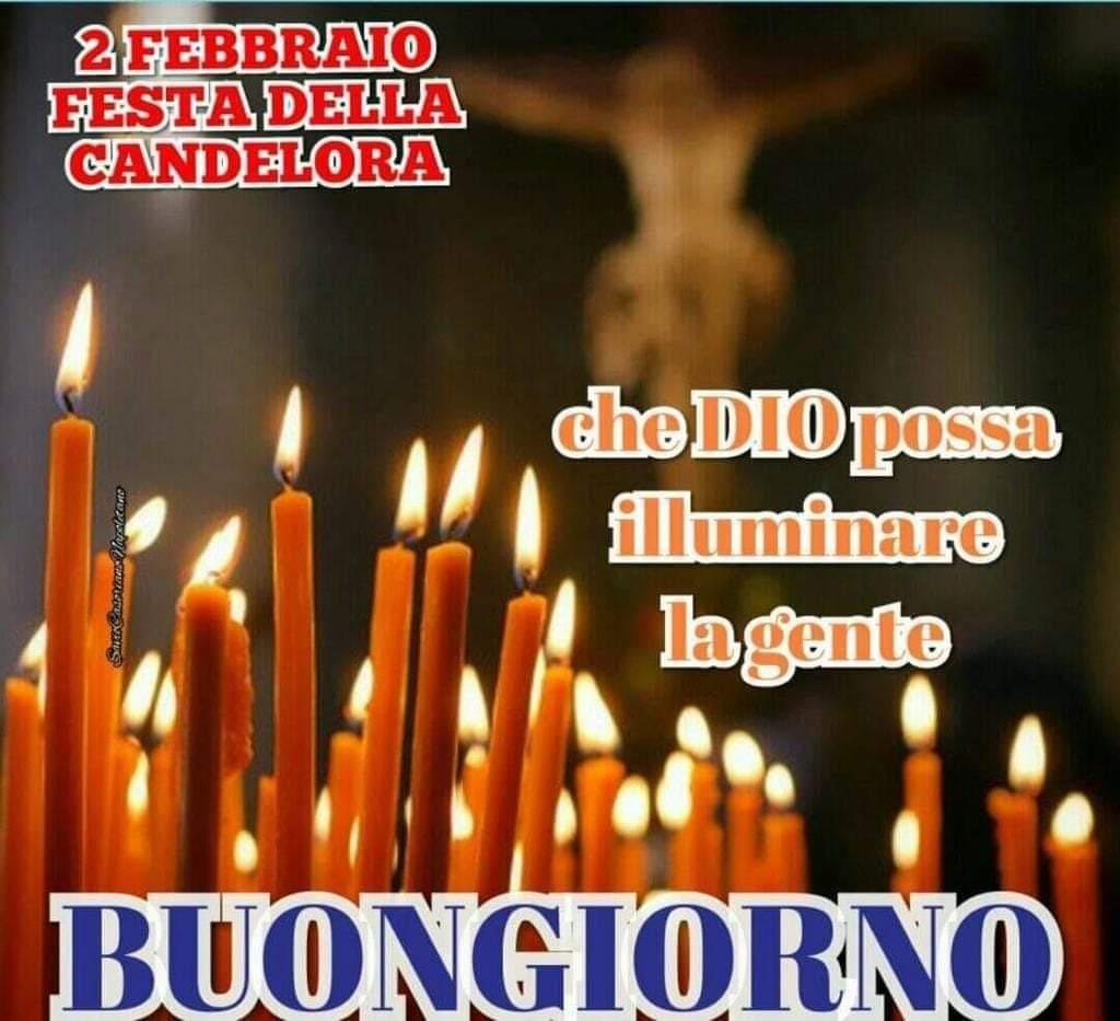 """""""2 Febbraio Festa della Candelora Che Dio possa illuminare la gente. Buongiorno"""""""