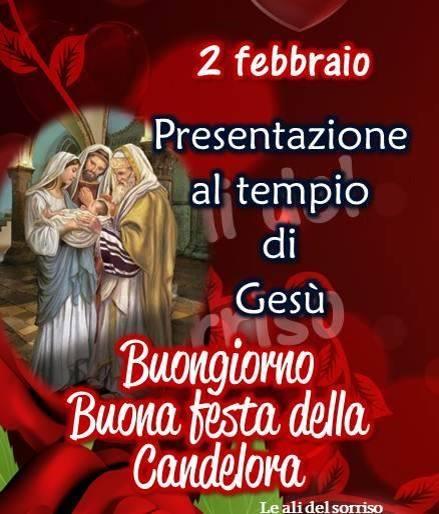 """""""Presentazione al Tempio di Gesù. Buongiorno Buona Candelora"""""""