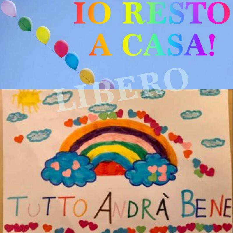 IO RESTO A CASA! TUTTO ANDRA' BENE