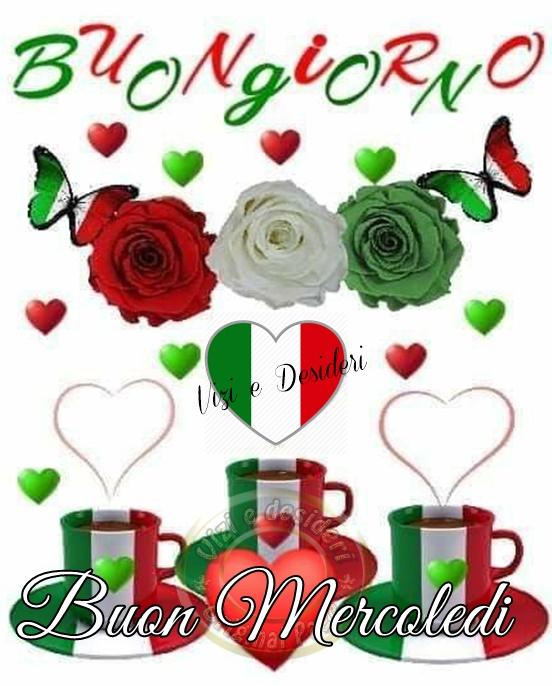Buon Mercoledì Italia, Buona Giornata a Tutti