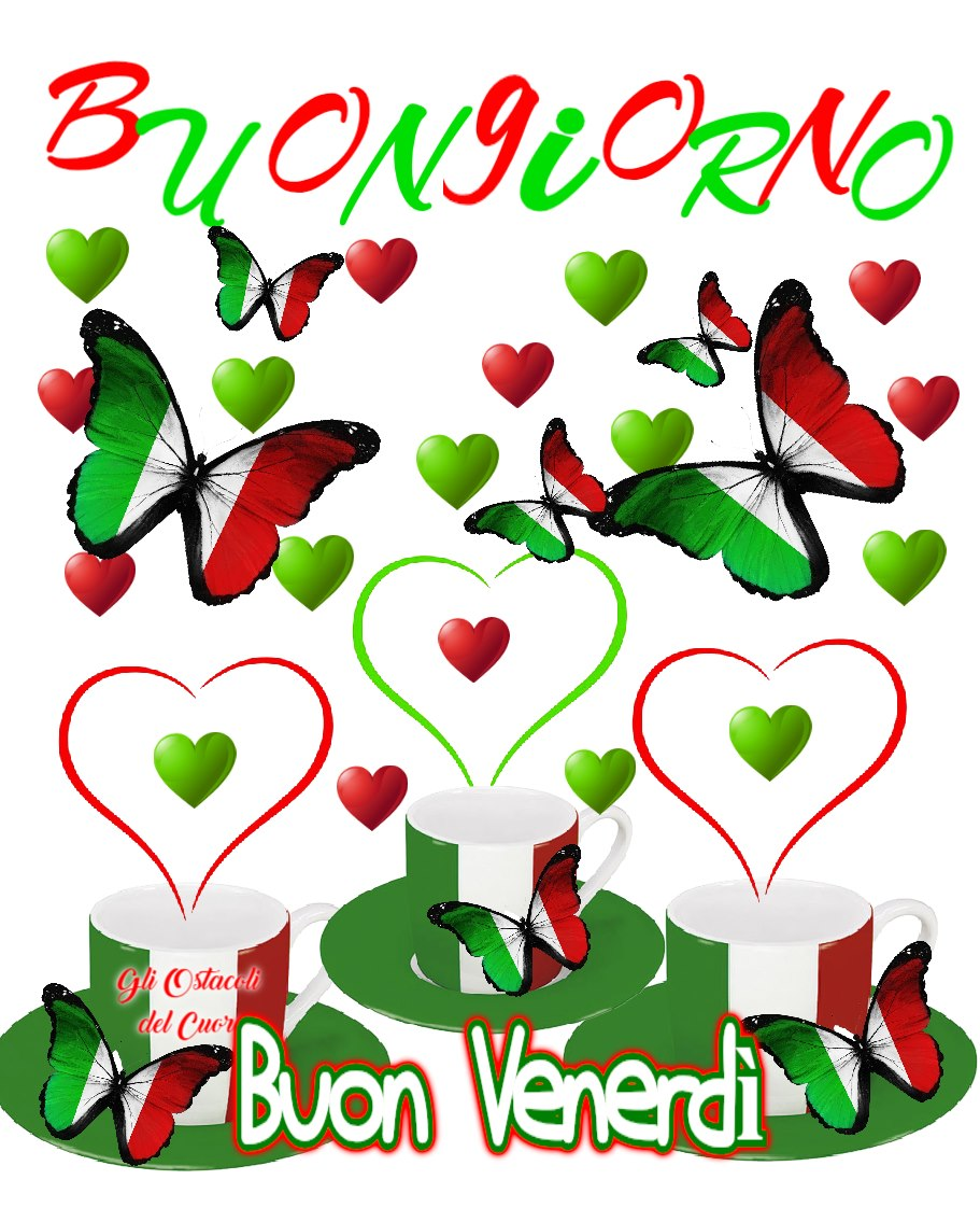 Buongiorno Buon Venerdì Italia
