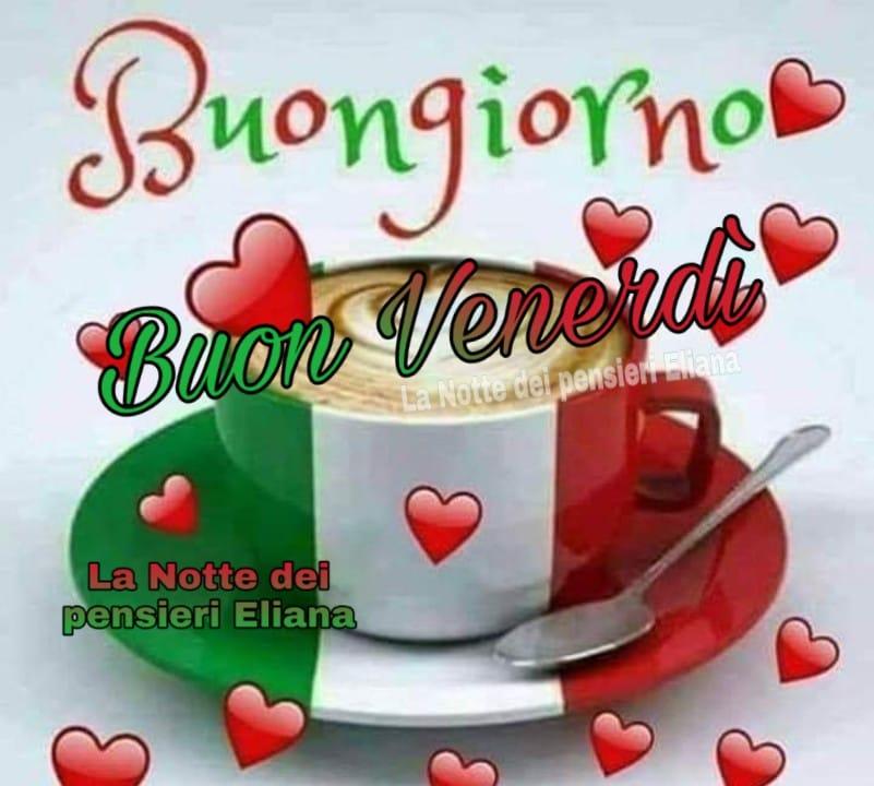 Buona Giornata e Buon Venerdì tricolore