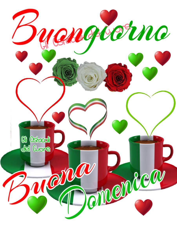 Buona Domenica tricolore