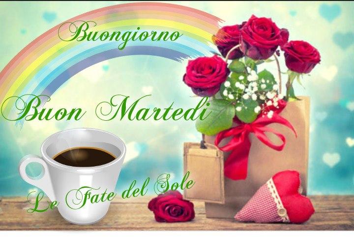 Buongiorno e Buon Martedì arcobaleno