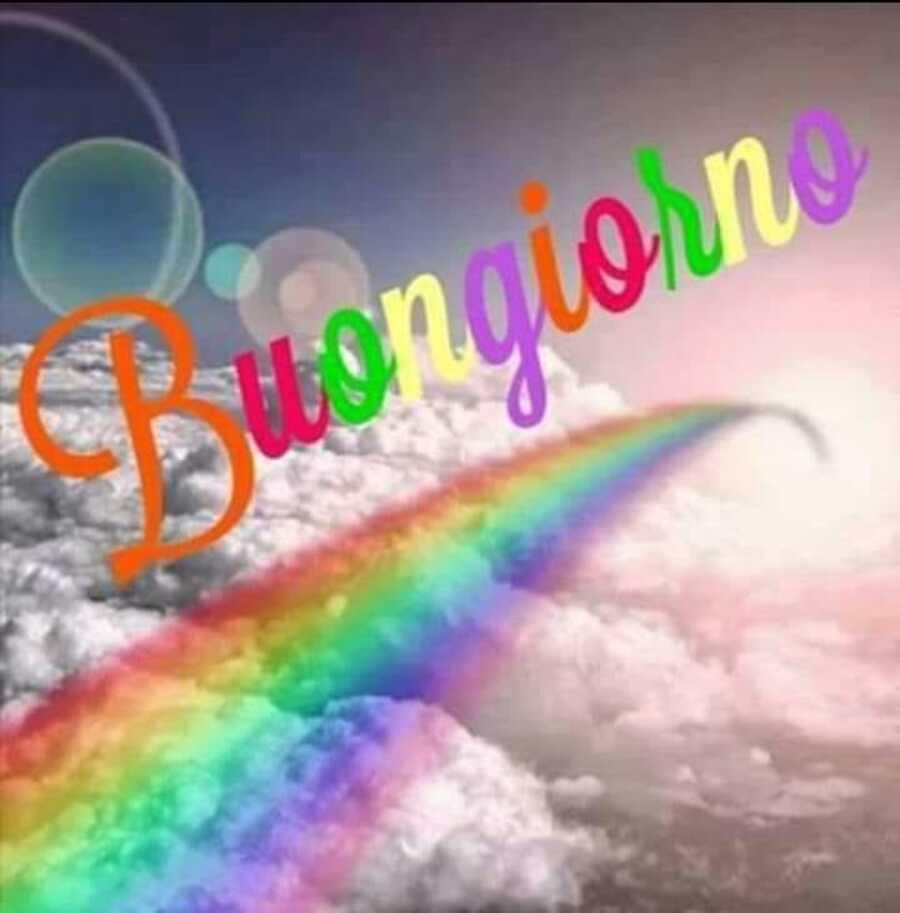 Link Buongiorno arcobaleno