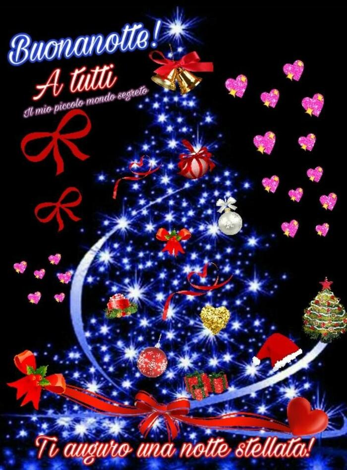 Buona Notte immagini natalizie