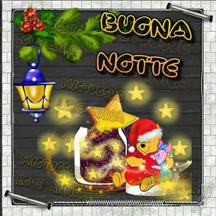 """""""BUONA NOTTE!"""" - Winnie The Pooh e il Natale"""
